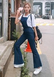 chuu-韩国韩国代购吊带轻便百搭韩国女装代购网站连体裤女装2017年07月31日夏季款
