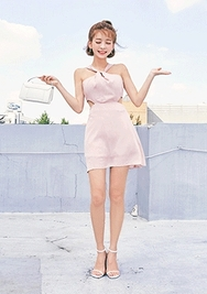 chuu-韩国时尚可爱夏季韩国代购正品连衣裙女装2017年08月07日08月款
