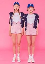 chuu-韩国时尚流行可爱韩国代购短裤女装2017年08月09日08月款