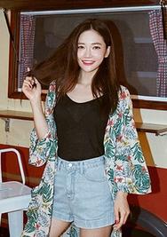 chuu-韩国时尚流行凉爽韩国代购吊带女装2017年08月09日08月款