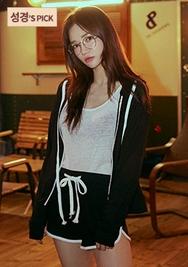 chuu-韩国时尚舒适休闲套装女装2017年08月09日08月款