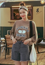 chuu-韩国时尚流行魅力牛仔韩国代购短裤女装2017年08月09日08月款
