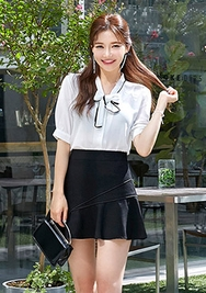 chuu-韩国时尚宽松魅力韩国代购正品衬衫女装2017年08月09日08月款