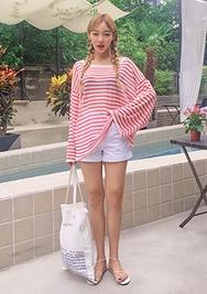chuu-韩国时尚魅力可爱韩国代购短裤女装2017年08月09日08月款