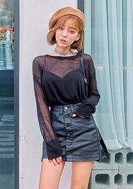 chuu-韩国时尚魅力透视韩国代购毛衣针织衫女装2017年08月14日08月款
