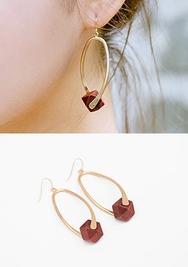 chuu-韩国时尚风格独特韩国代购耳环女装2017年08月14日08月款