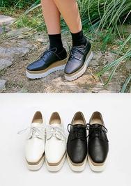 chuu-韩国时尚舒适女士平底鞋女装2017年08月14日08月款
