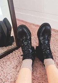 chuu-韩国时尚帅气气质韩国代购正品高跟鞋女装2017年08月14日08月款