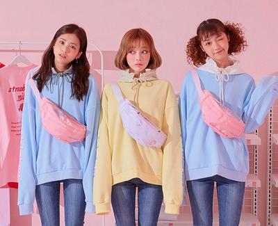 chuu-时尚魅力个性单肩小包