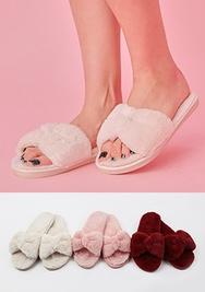 1区2017冬季新款韩国服装chuu品牌气质个性个性拖鞋(2017.12月)