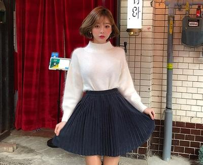 2018新款韩国服装chuu品牌气质时尚魅力短裙(2018.1月)