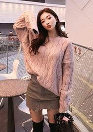 2018新款韩国服装chuu品牌气质个性魅力针织衫(2018.1月)