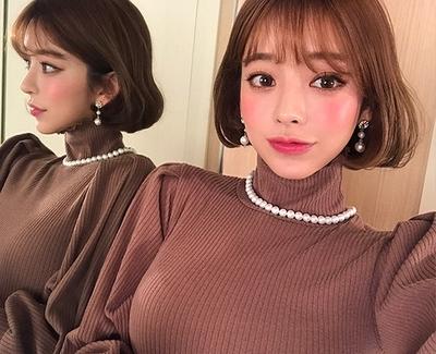 2018新款韩国服装chuu品牌气质个性魅力耳环(2018.1月)