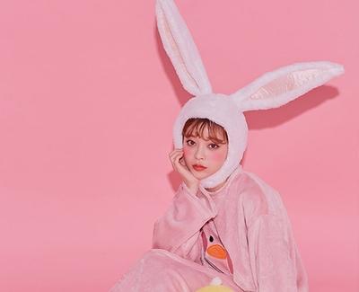2018新款韩国服装chuu品牌时尚魅力休闲帽子(2018.1月)