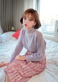 2018新款韩国服装chuu品牌气质时尚魅力长裙(2018.1月)