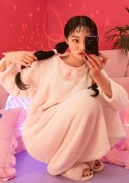 2018新款韩国服装chuu品牌清新配色舒适睡衣(2018.1月)