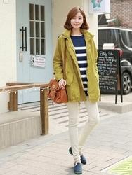 1区韩国代购正品验证clicknfunny-CFJK00755868-明朗魅力韩版纯色夹克