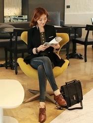 1区韩国代购正品验证clicknfunny-CFJK00755867-流行魅力韩版纯色夹克