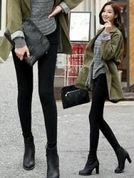 1区韩国代购正品验证clicknfunny-CFLG00790458-修身显瘦舒适打底裤