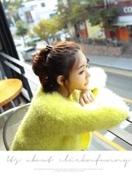 1区韩国代购正品验证clicknfunny-CFCA00790456-秋装新款舒适针织开襟衫