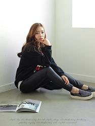 1区韩国代购正品验证clicknfunny-CFJN00790619-修身显瘦舒适小脚牛仔裤