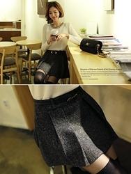1区韩国代购正品验证clicknfunny-CFCL00790562-时尚流行舒适魅力裙裤
