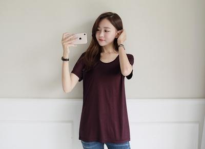 1区韩国本土服装代购(韩国圆通直发)clicknfunny-T恤(2018-07-14上架)