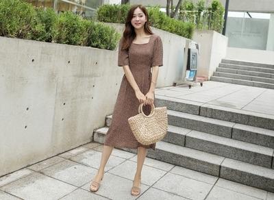 1区韩国本土服装代购(韩国圆通直发)clicknfunny-连衣裙(2018-07-14上架)