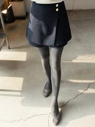 2018新款韩国服装clicknfunny品牌魅力十足纯色裙裤(2018.1月)