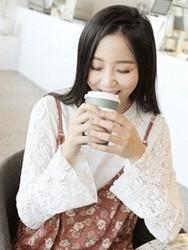 2018新款韩国服装clicknfunny品牌时尚流行蕾丝T恤(2018.1月)