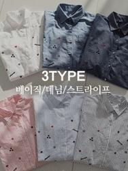 2018新款韩国服装clicknfunny品牌时尚风格帅气衬衫(2018.1月)