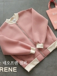 2018新款韩国服装clicknfunny品牌时尚风格可爱夹克(2018.1月)