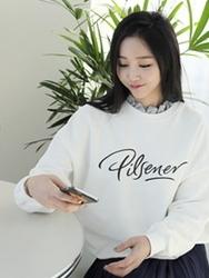 2018新款韩国服装clicknfunny品牌时尚流行字母卫衣(2018.1月)