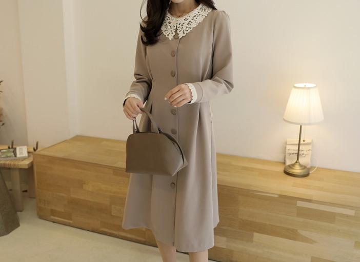 1区韩国本土服装代购(韩国圆通直发)clicknfunny-连衣裙(2019-01-18上架)