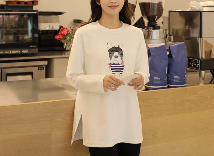 1区韩国本土服装代购(韩国圆通直发)clicknfunny-T恤(2019-01-19上架)
