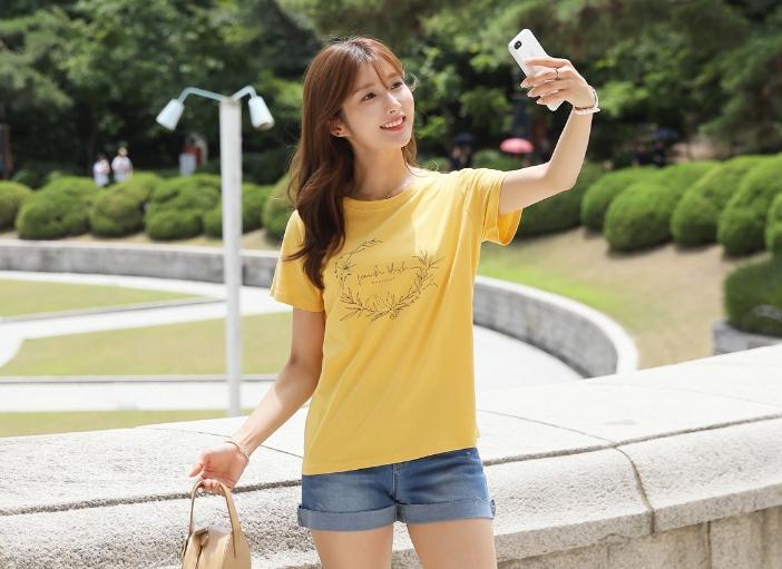 1区100%正宗韩国官网代购(韩国直发包国际运费)clicknfunny-T恤(2019-07-13上架)