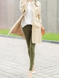 1区韩国代购正品验证closet9-CNCT00756185-甜美舒适双排扣大衣