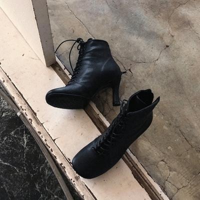 1区韩国本土服装代购(韩国圆通直发)Crazy girls-靴子(2018-09-18上架)