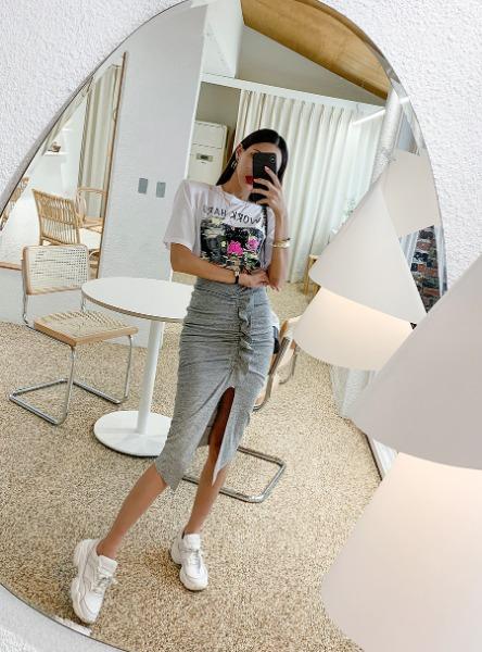 1区100%正宗韩国官网代购(韩国直发包国际运费)Crazy girls-长裙(2019-08-20上架)