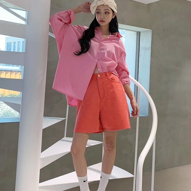 1区100%正宗韩国官网代购(韩国直发包国际运费)Crazy girls-短裤(2020-04-08上架)
