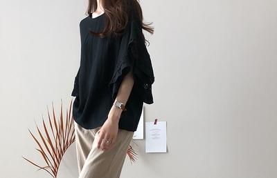 1区韩国本土服装代购(韩国圆通直发)dailylook-衬衫(2018-07-14上架)