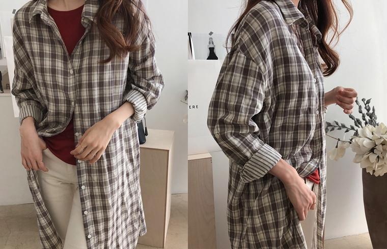 1区韩国本土服装代购(韩国圆通直发)dailylook-衬衫(2018-09-19上架)