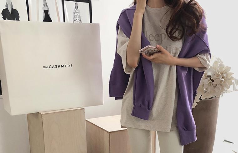 1区韩国本土服装代购(韩国圆通直发)dailylook-T恤(2018-09-19上架)