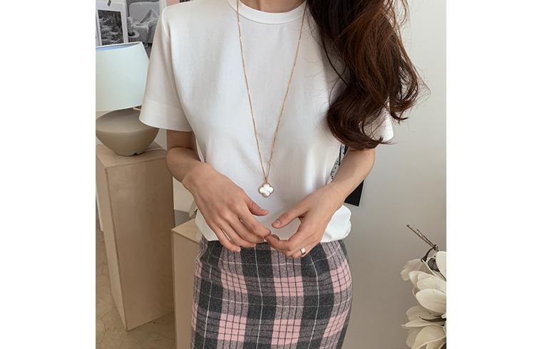 1区韩国本土服装代购(韩国圆通直发)dailylook-T恤(2018-11-14上架)