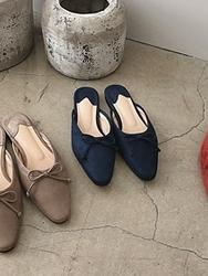2018新款韩国服装dailylook品牌女士魅力高档秀气拖鞋(2018.1月)