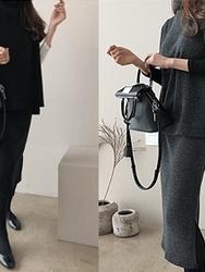 2018新款韩国服装dailylook品牌韩版时尚休闲套装(2018.1月)