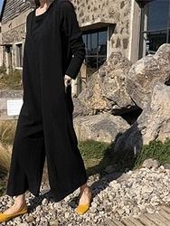 2018新款韩国服装dailylook品牌韩版时尚舒适连体裤(2018.1月)