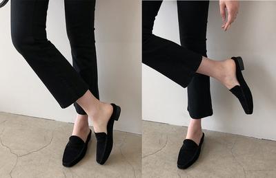 1区韩国本土服装代购(韩国圆通直发)dailylook-拖鞋(2019-02-19上架)