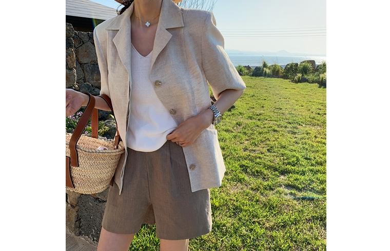 1区韩国本土服装代购(韩国圆通直发)dailylook-短裤(2019-05-10上架)