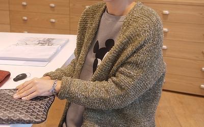 따따따-(3color)모노톤즈-가디건